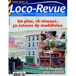HSLR26 (hors série 05/2012) : Un plan, 16 réseaux, 32 astuces de modélistes