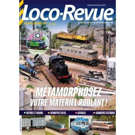 HSLR 74 (08/2020) : Métamorphosez votre matériel roulant