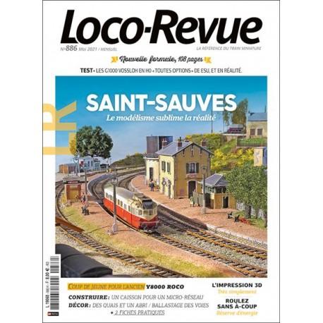 Loco-Revue 886 de Mai 2021