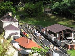 Les reportages de ptitrain for Jardin ferroviaire